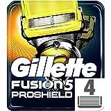 Gillette Fusion5 ProShield Razor Blades, 4 Refills