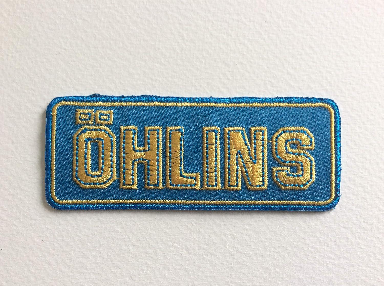 BLUE HAWAI M033 Patch ECUSSON OHLINS 8,5 * 3,5 CM