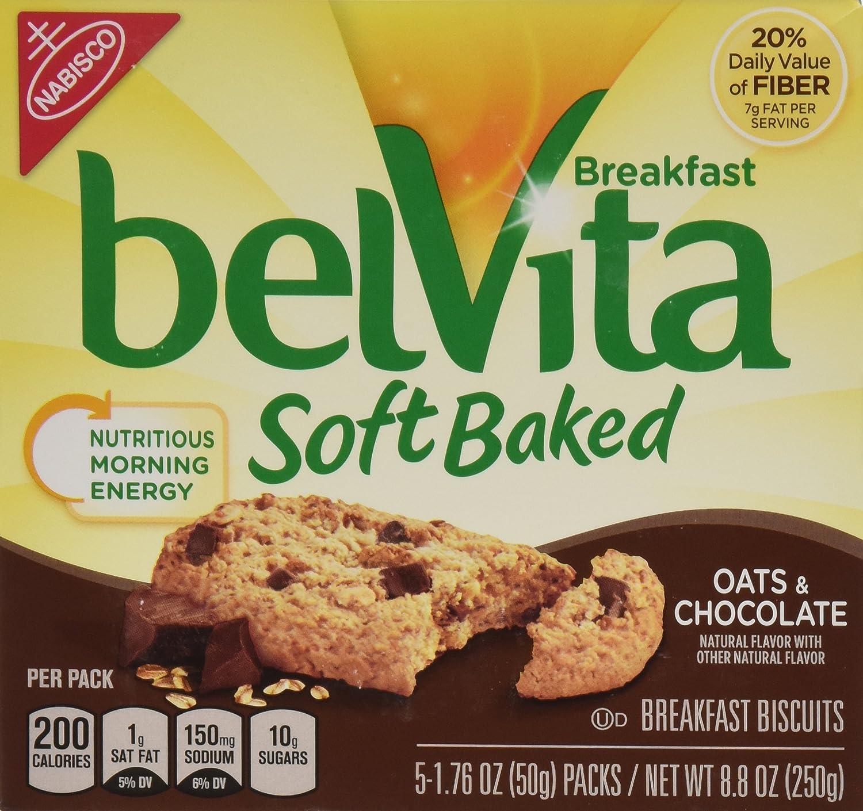 Amazon.com: Nabisco, Belvita, Oats & Chocolate Soft Baked ...