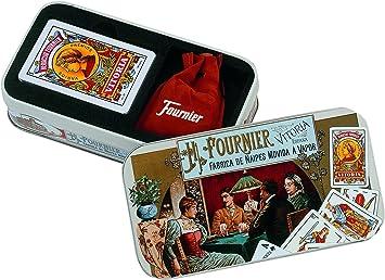 Fournier - Mus en Lata metálica, Conjunto de Juego (F27727): Amazon.es: Juguetes y juegos