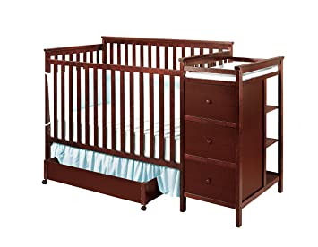 Shermag Florence Convertible Crib N Changer Combo Cherry Amazon Ca