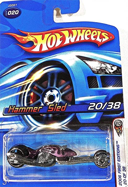 HOT WHEELS 2006 FIRST EDITIONS SERIES PURPLE HAMMER SLED #20//38