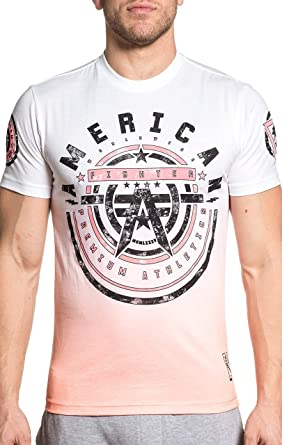 0cf652b6 Amazon.com: American Fighter Mens Galloway Short Sleeve Premium Tee:  Clothing
