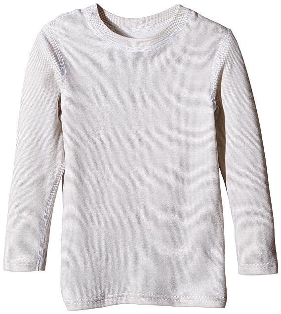 Trigema Langarm Funktions-Shirt-Ropa Interior Técnica Niñas Blanco (1) 12 Años