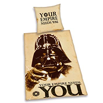 Herding 447255039 Bettwäsche Star Wars Your Empire Needs You