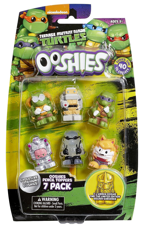 Ooshies TMNT 7 Pack Asst - Wave 1: Amazon.es: Juguetes y juegos