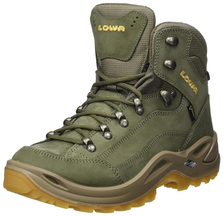 Lowa Womens Renegade Gore-TEX Mid Nubuck Boots B01LY3NTTC 8.5 B(M) US|Reed Honey