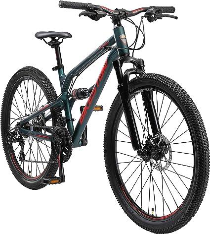 Scheibenbremse 29 Zoll Reifen 17 BIKESTAR Hardtail Aluminium Mountainbike Shimano 21 Gang Schaltung 19 Zoll Rahmen Alu MTB RISIKOFREI TESTEN