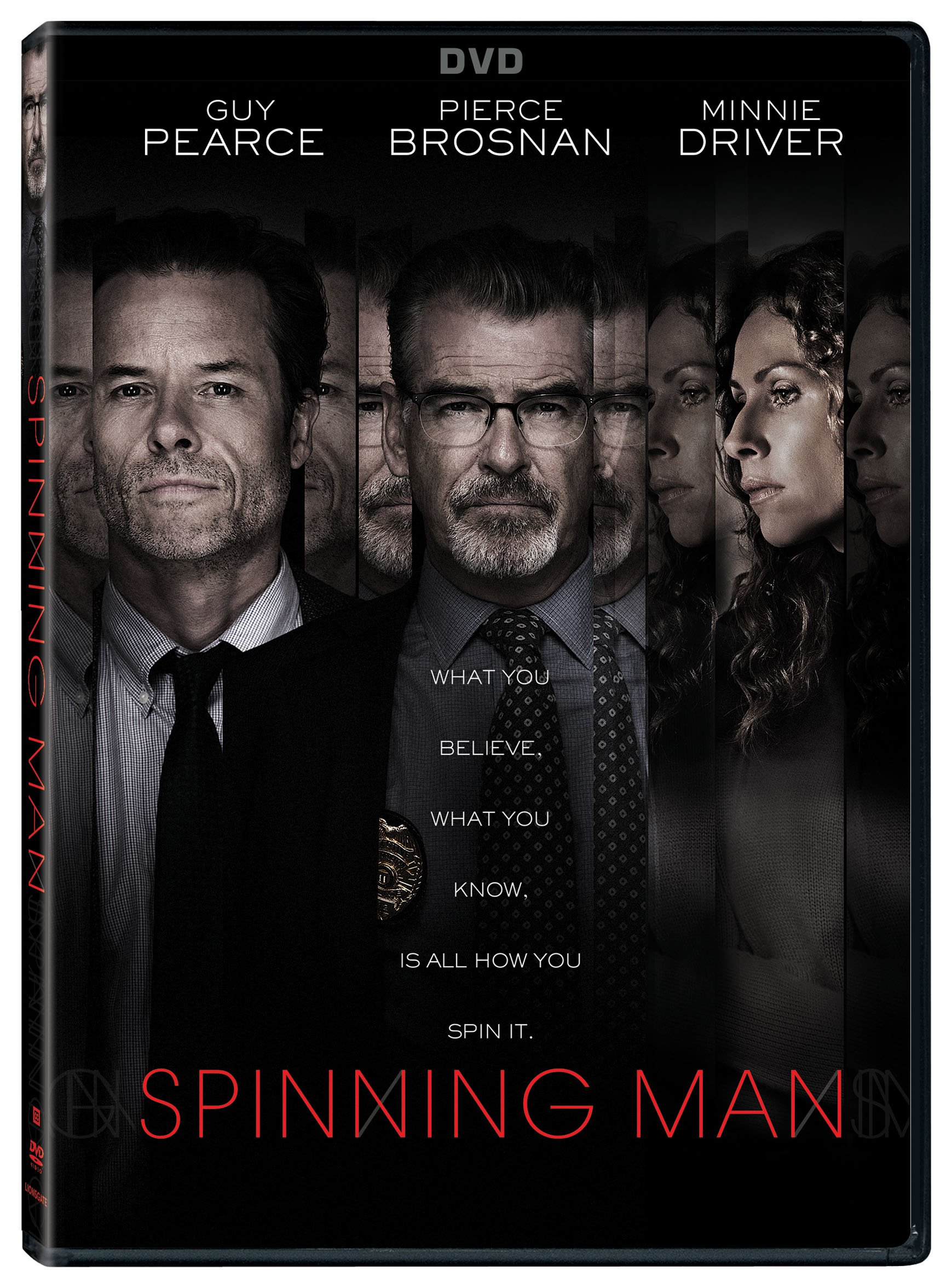 DVD : Spinning Man (Widescreen, Subtitled, Dolby, AC-3)