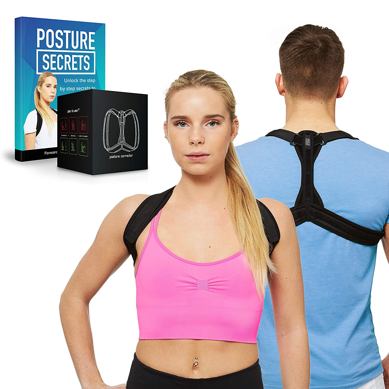 4e3869a67f7ac High Quality Neoprene Posture Trainer Posture Back Brace - Size (M) by FMI  (Medium)