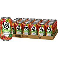 V8 Original Low Sodium 100% Vegetable Juice, 11.5 FL Oz. Can (Pack of 24)