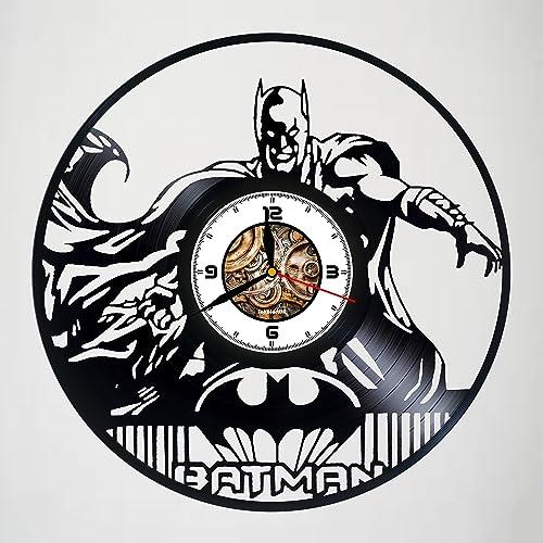 Amazon.com: Batman - Comics - Handmade Vinyl Record Wall Clock ...