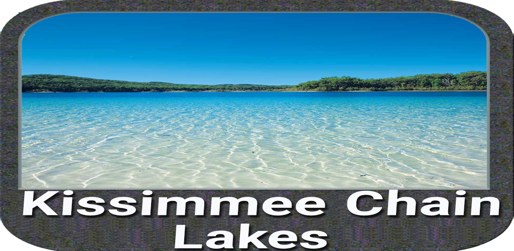 Kissimmee Chain lakes - Florida gps map navigator: Amazon.es ...