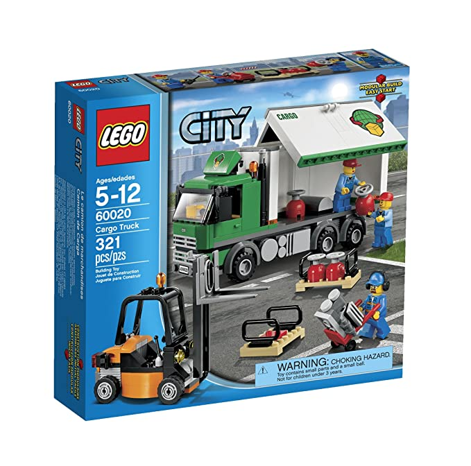 Amazon Lego City 60020 Cargo Truck Toy Building Set Toys Games