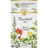 Celebration Herbals, Tea Bags Burdock Root, 24 Count