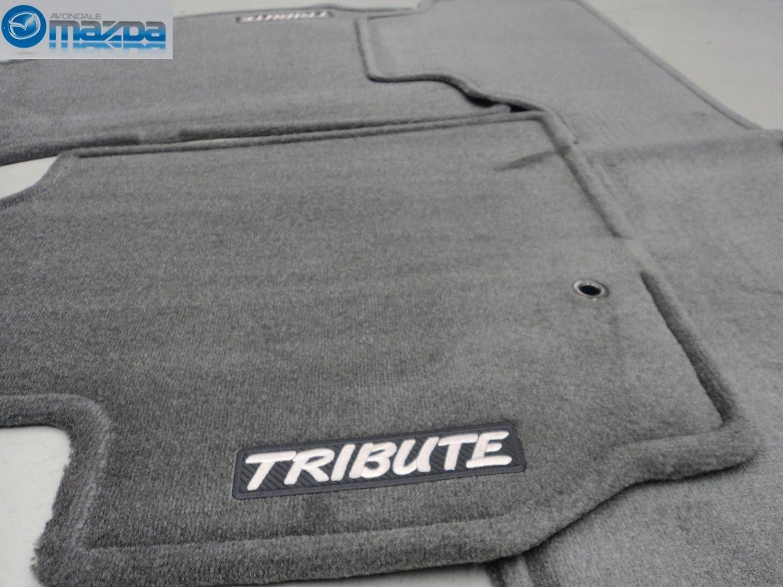 Amazon.com: MAZDA TRIBUTE 2001-2004 NEW OEM GRAY CARPETED FLOOR MATS:  Automotive