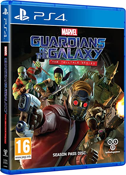 Marvels Guardians Of The Galaxy: The Telltale Series [Importación ...