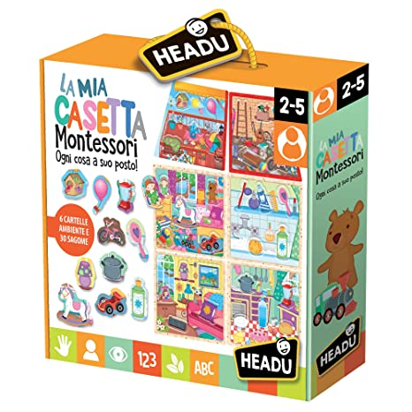 076dceb392315e Headu 55034 La Mia Casetta Montessori: Headu: Amazon.it: Giochi e ...