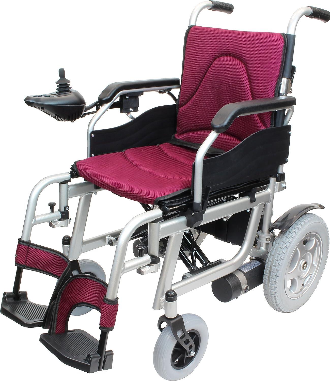 ケアテックジャパン 電動車椅子 ハピネスムーブ CE20-HSU-12 (ワインレッド) B0771C4KMC ワインレッド ワインレッド