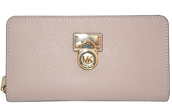 39e73726684bec Image Unavailable. Image not available for. Color: MICHAEL Michael Kors  Women's Hamilton Traveler Large Zip Around Cluch Wallet , Oyster