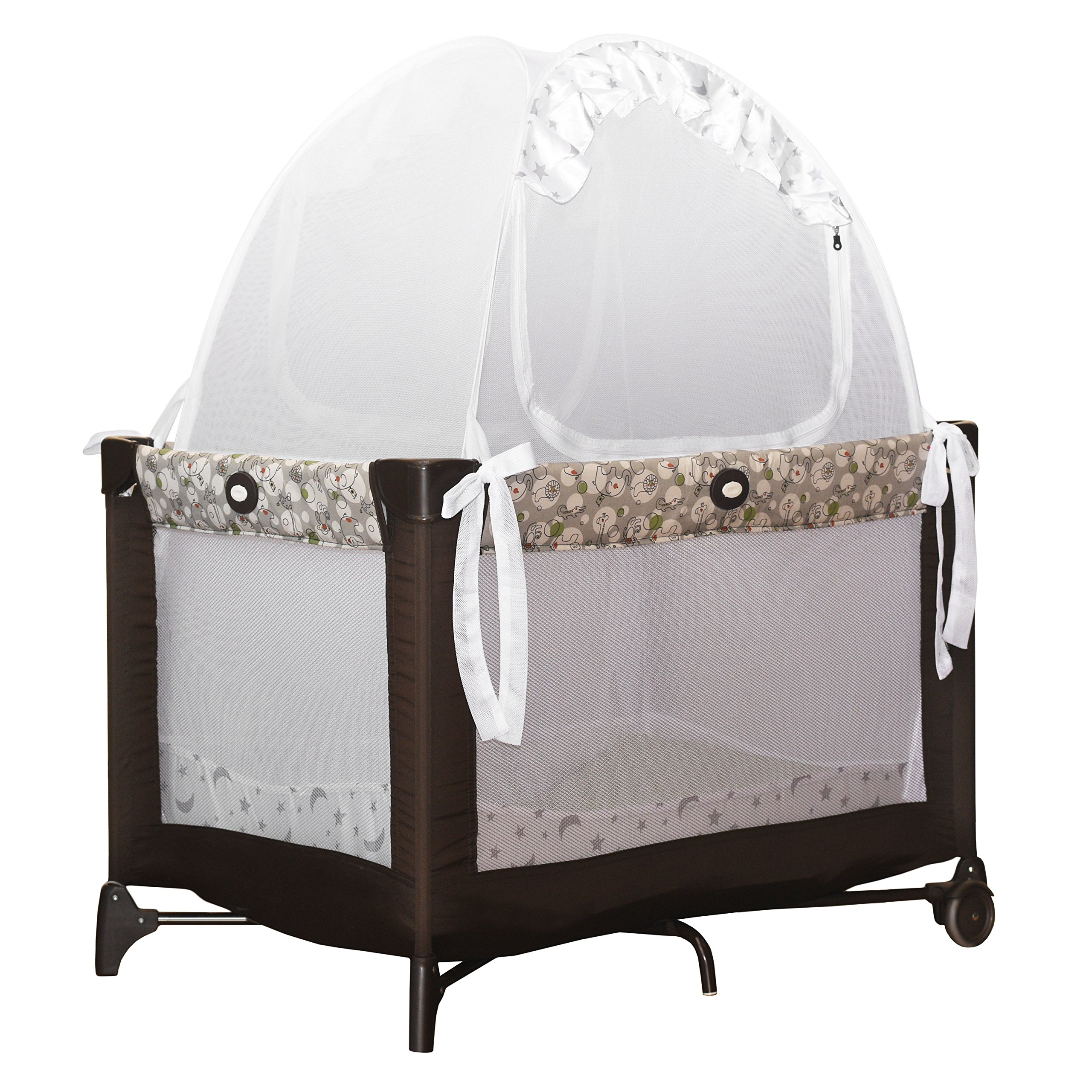Baby Pack 'N Play Safety Pop up Tent: Premium Bed Canopy ...