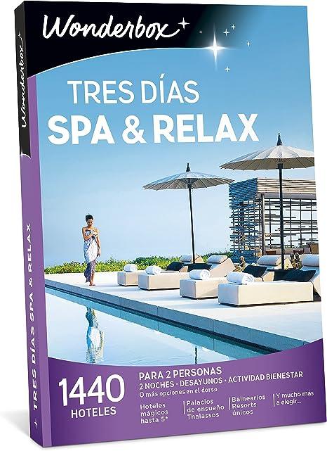 Caja - Regalo Wonderbox - Tres Días SPA & Relax - -5% En Libros ...
