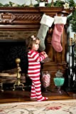 Leveret Striped Baby Boys Girls Footed Pajamas