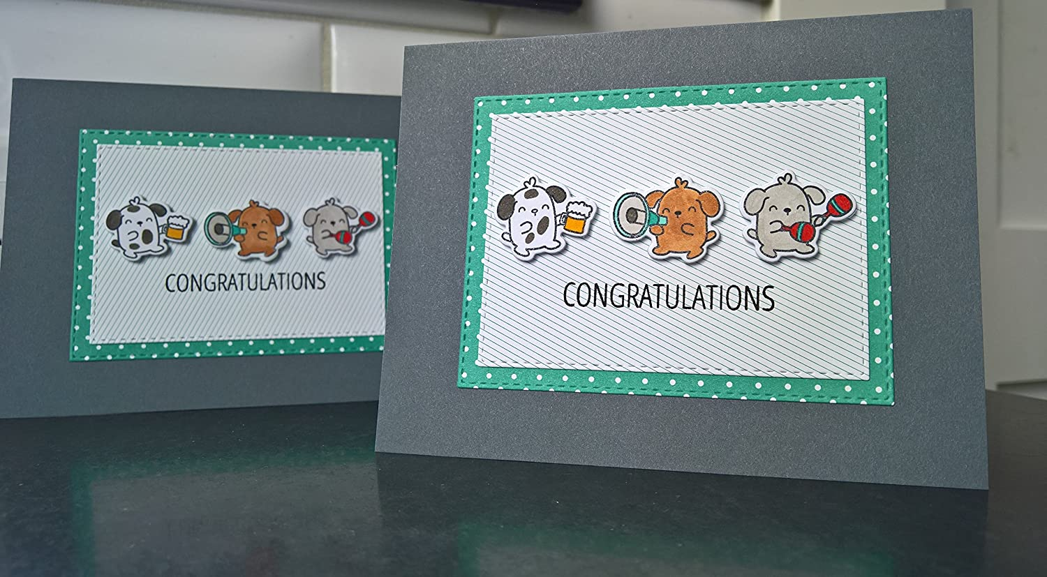 Dog Congratulations Card Dog Lover Card New Job Card Dog Lover Gift New Dog Card Graduation Card Retirement Card