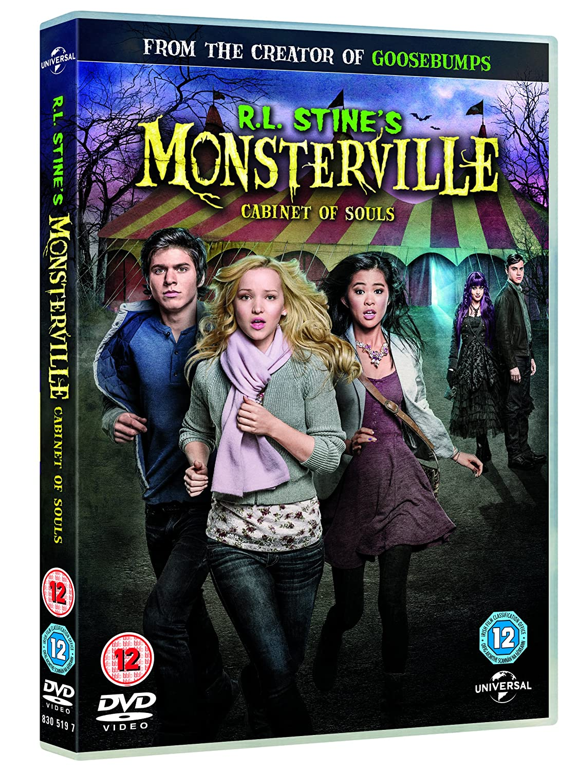 R.L. Stine's Monsterville: The Cabinet Of Souls DVD: Amazon.co.uk ...