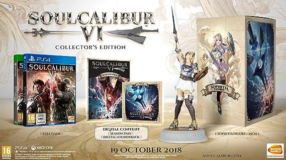 Soul Calibur VI Collector's Edition (PS4): Amazon co uk: PC