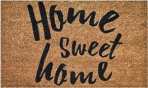 Ninamar Door Mat Home Sweet Home Natural Coir – 29.5 x 17.5 inch