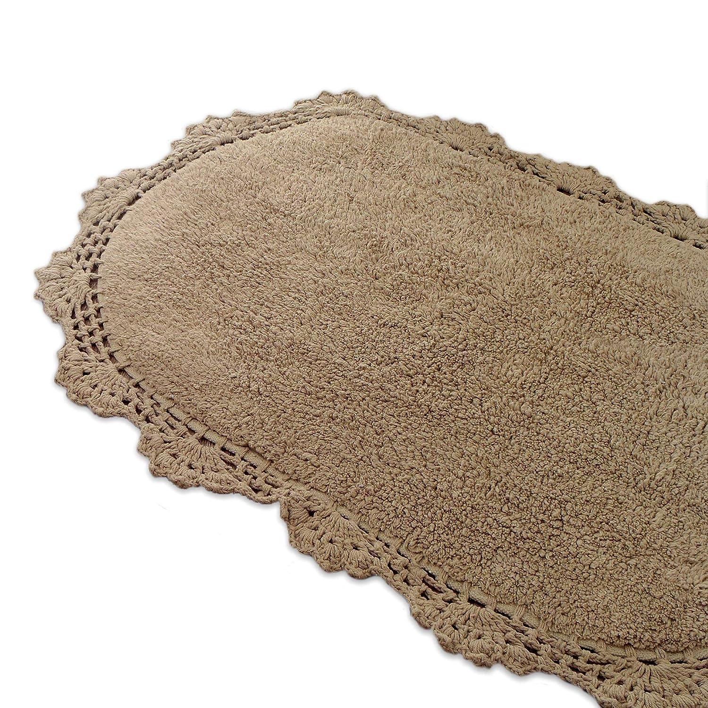 Tapis Salle De Bain Ovale ~ tapis pour salle de bain tapis de bain ovale shabby chic et