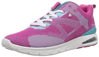British Knights DEMON, Damen Sneakers, Pink (Fuchsia/Turquoise 03), 36