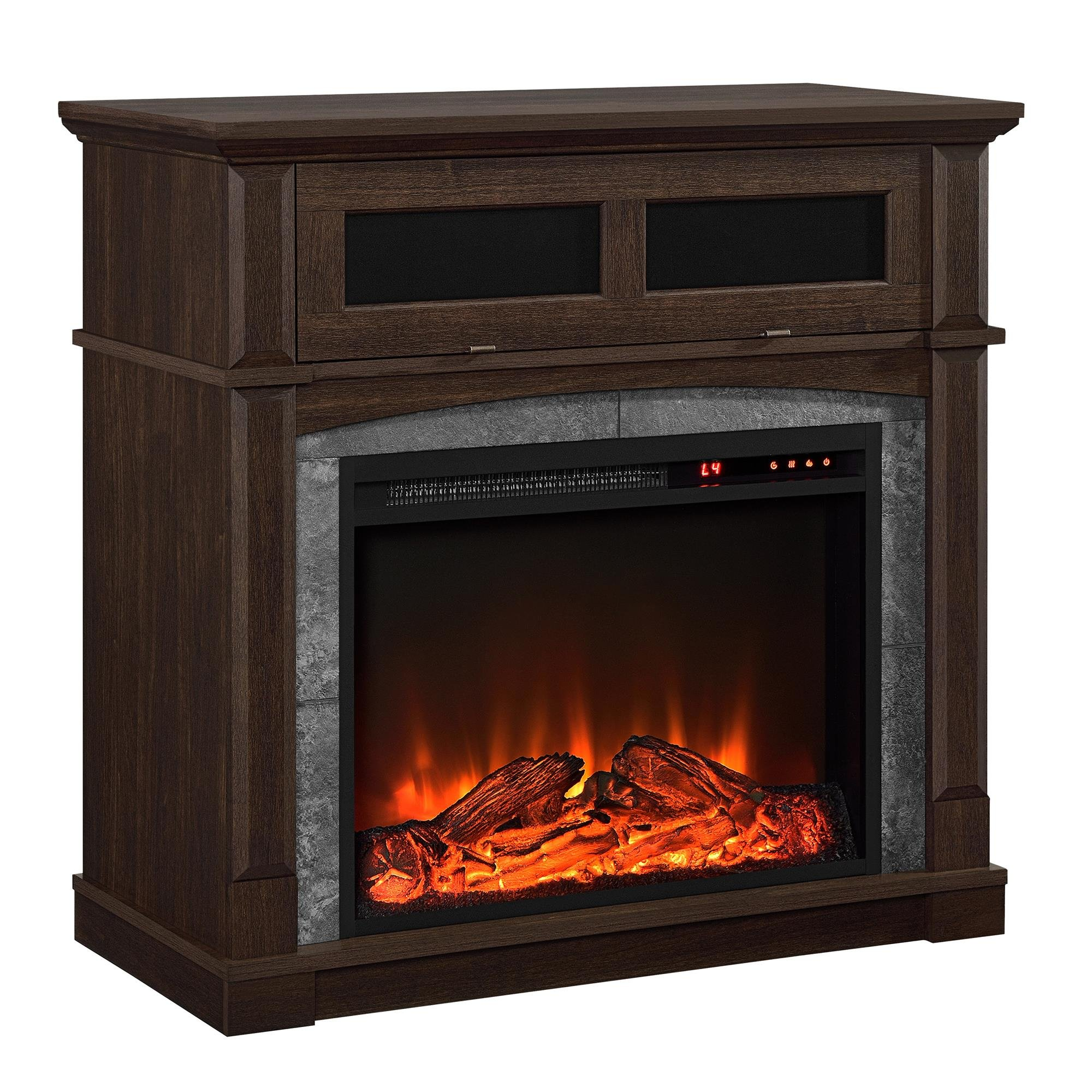 Tv Stands With Electric Fireplace Amazon Com
