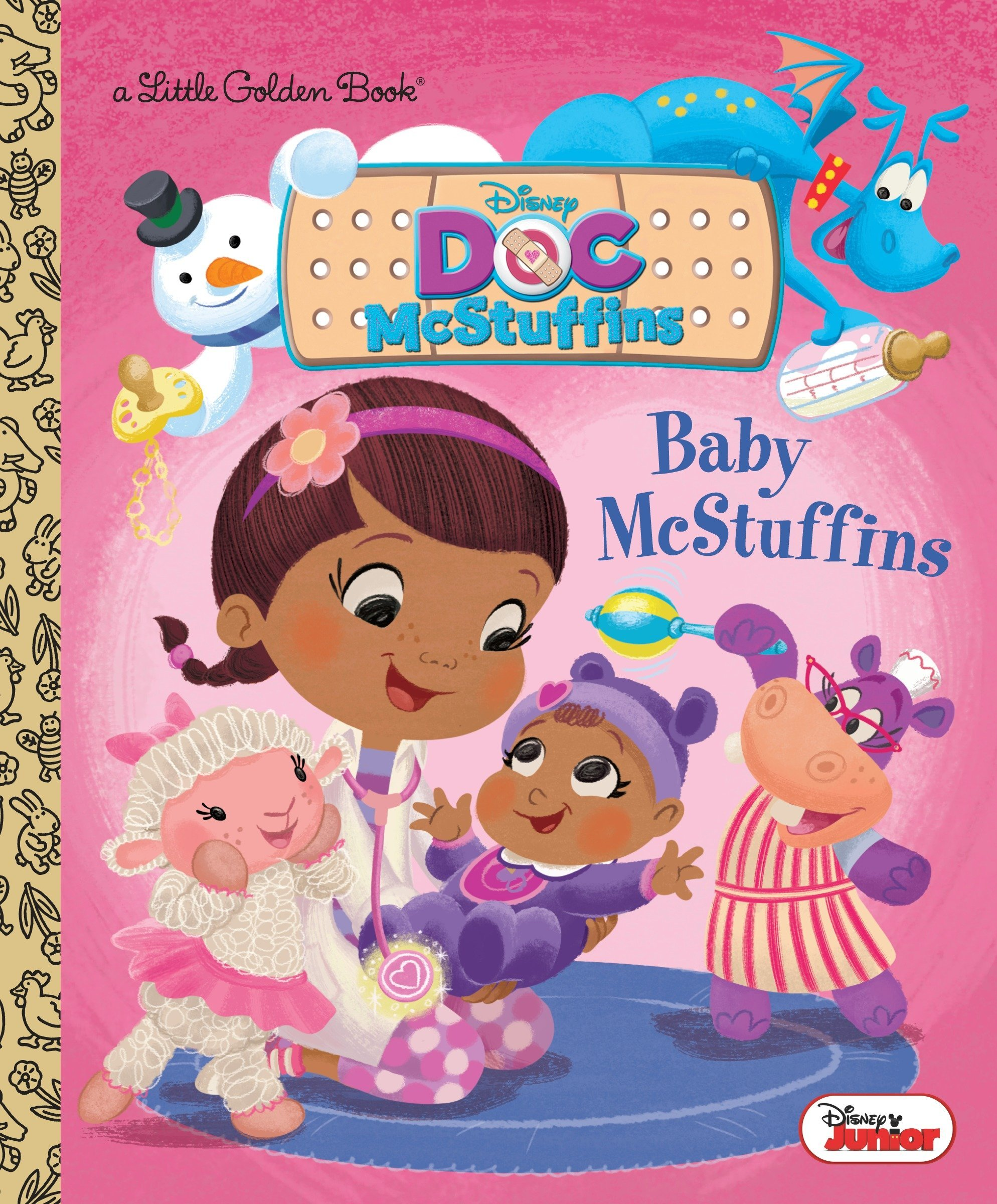 Baby McStuffins Disney Junior: Doc McStuffins Little Golden Book ...