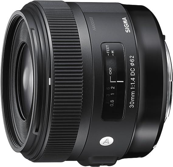 Sigma 30 mm/F 1,4 DC/HSM - Objetivo para Canon (Distancia Focal ...