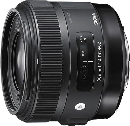 Sigma 30mm F 1 4 Dc Hsm Lens For Canon Digital Slr Cameras Black