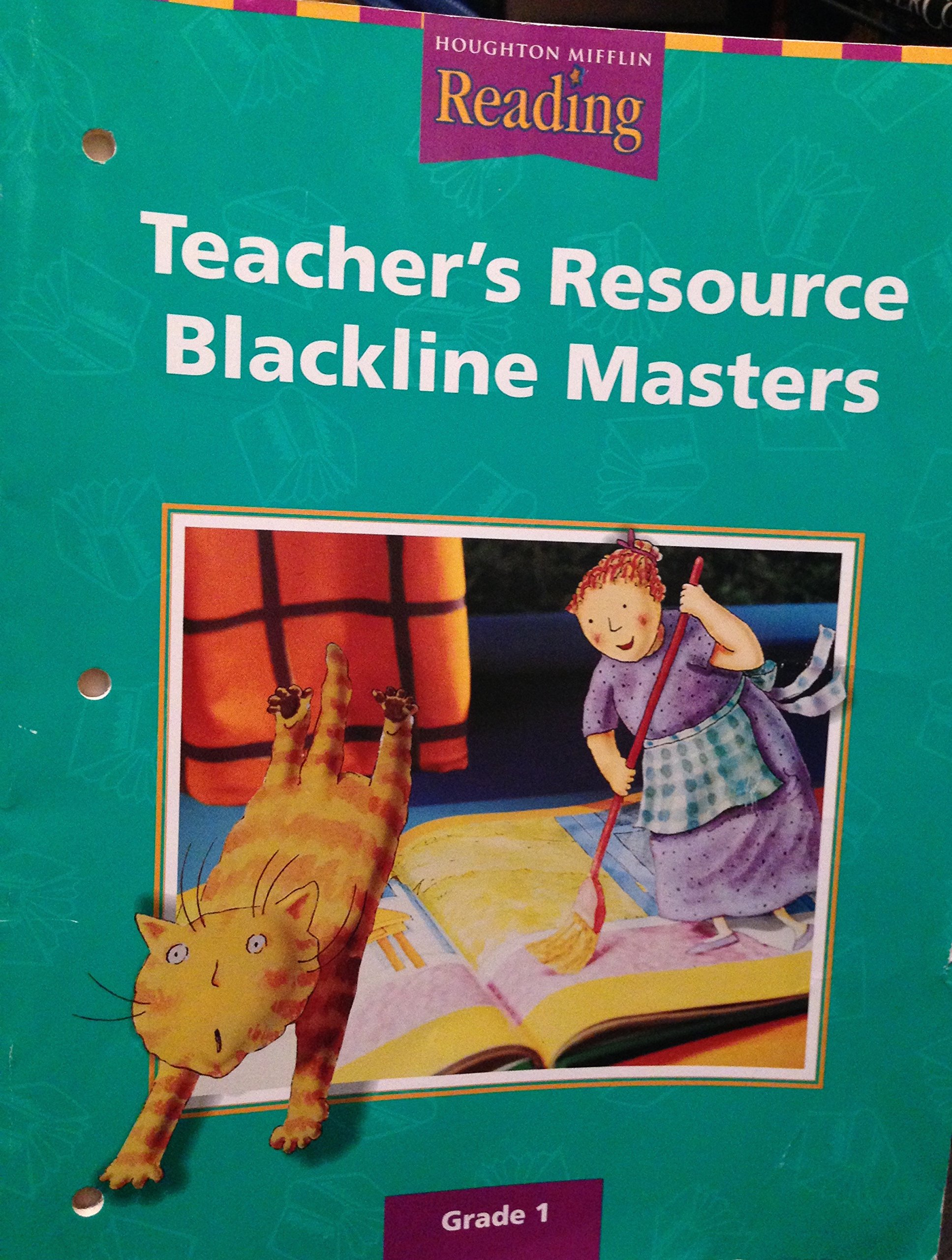 Download Houghton Mifflin Reading: Teacher's Resource Blackline Masters, Grade 1 pdf
