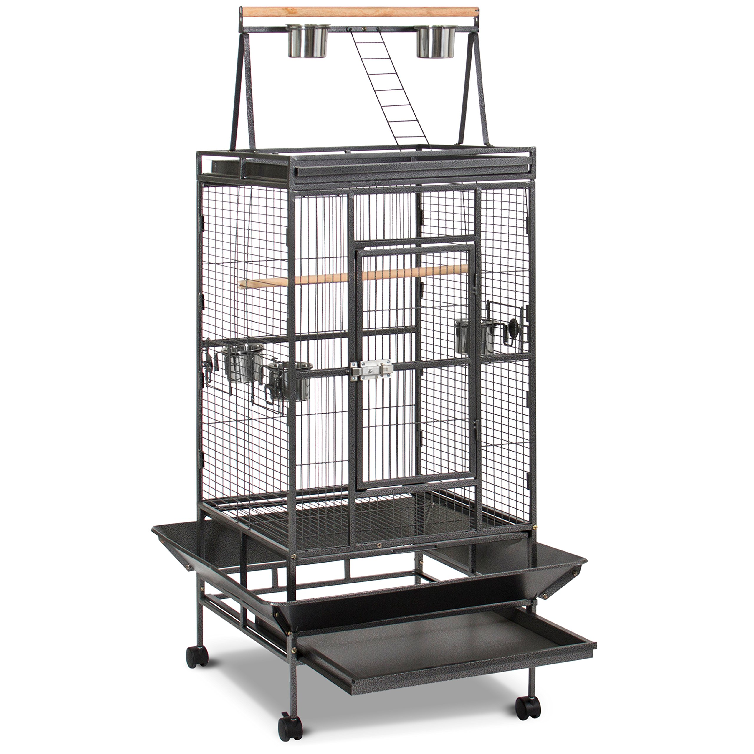 Best Choice Products New Large Play Top Bird Cage Parrot Finch Macaw Cockatoo Birdcages by Best Choice Products