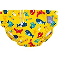 Bambino Mio, Reusable Swim Nappy, deep sea Yellow, Extra Large (2+ Years)