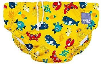 Bambino Mio Large Swim Nappy Deep Sea Blue 1-2 Years
