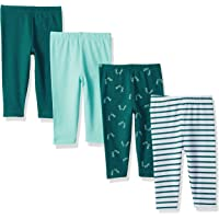 Hanes Ultimate Baby Baby-Boys BF2LE4 Flexy 4 Pack Knit Pants Layette Set - Multi