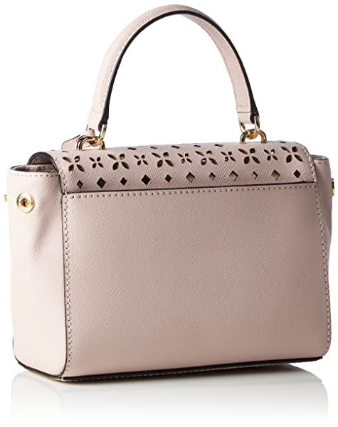 ca4a49de4aa3 MICHAEL Michael Kors. Ava Extra-Small Perforated-Leather Crossbody. Back.  Double-tap to zoom