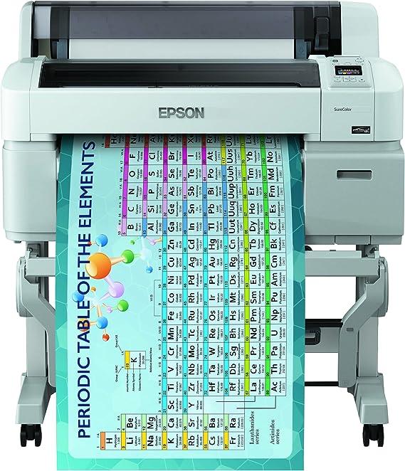 Epson SureColor SC-T3200 - Impresora de gran formato (2880 x 1440 DPI, Inyección de tinta, ESC/P-R,HP-GL/2,HP-RTL,PostScript 3, Cian, Magenta, Negro mate, Foto negro, Amarillo, A1 (594 x 841 mm), 0.08 - 1.5