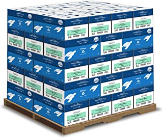 product image for Hammermill Colored Paper, 20 lb Green Printer Paper, 8.5 x 11-1 Pallet, 40 Cases (200,000 Sheets) - Made in the USA, Pastel Paper