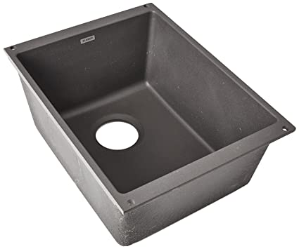 Blanco 519048 Precis Medium Bowl Cinder Blanco Cinder Sink57