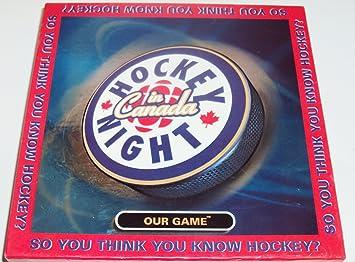Hockey Night In Canada Board Games Amazon Canada