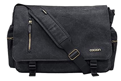 b6ca4543f7 Cocoon MMB2704BK Urban Adventure 16 quot  Messenger Bag with Built-in  Grid-IT!
