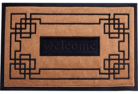 Delicieux Welcome Mat Outdoor/Indoor Slonser Doormat 18u0026quot;x30u0026quot; Heavy Duty  Waterproof Front Door