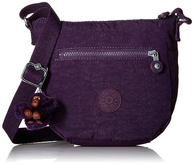 96f5db7eb Kipling Bailey - Minibolsa (tamaño pequeño), color morado, Púrpura  profundo, Talla
